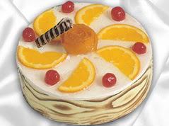 lezzetli pasta satisi 4 ile 6 kisilik yas pasta portakalli pasta  Adana çiçek gönder çiçekçi mağazası