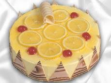 taze pastaci 4 ile 6 kisilik yas pasta limonlu yaspasta  Adana çiçek siparişi online çiçek gönderme sipariş