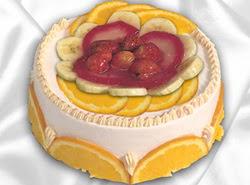 leziz pastane 4 ile 6 kisilik yas pasta meyvali yaspasta  Adana çiçek siparişi kaliteli taze ve ucuz çiçekler