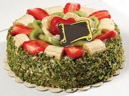 pasta gönder  4 ile 6 kisilik karisik meyvali yas pasta  Adana çiçek siparişi internetten çiçek siparişi