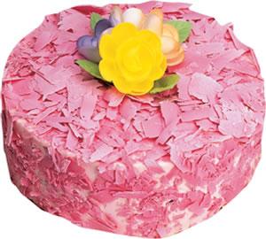 pasta siparisi 4 ile 6 kisilik framboazli yas pasta  Adana çiçek yolla çiçek yolla