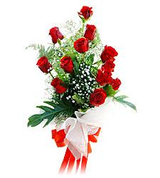 11 adet kirmizi güllerden görsel sölen buket  Adana çiçek siparişi çiçek siparişi vermek