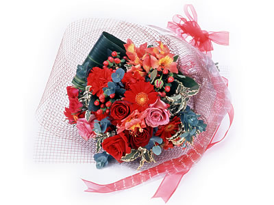 Karisik buket çiçek modeli sevilenlere  Adana çiçek siparişi uluslararası çiçek gönderme