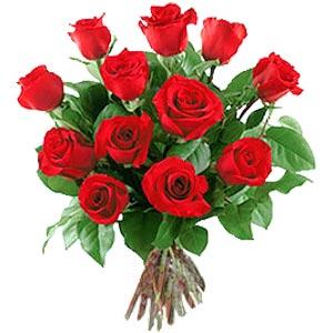 11 adet bakara kirmizi gül buketi  Adana çiçek siparişi güvenli kaliteli hızlı çiçek