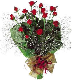 11 adet kirmizi gül buketi özel hediyelik  Adana çiçek gönder çiçekçi mağazası