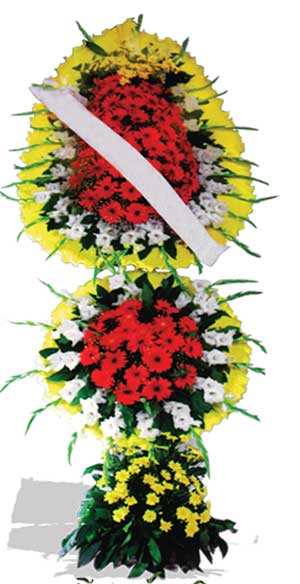 Dügün nikah açilis çiçekleri sepet modeli  Adana çiçek yolla çiçek yolla