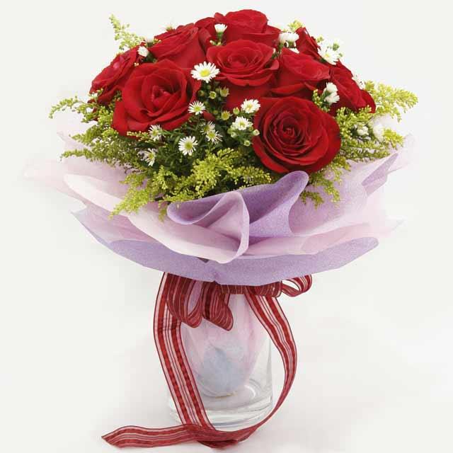 Çiçek gönderme estetikliginiz 11 gül buket  Adana çiçek gönder çiçekçi mağazası