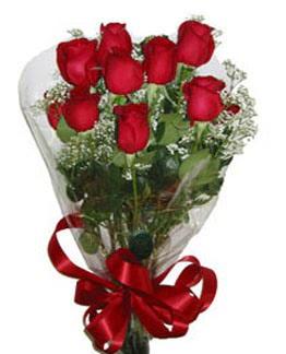 Çiçek sade gül buketi 7 güllü buket  Adana çiçek siparişi online çiçek gönderme sipariş