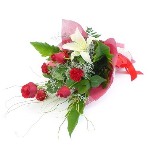 Mevsim çiçeklerinden karisik buket  Adana çiçek siparişi cicek , cicekci