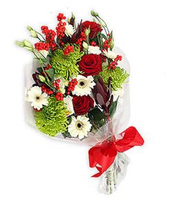 Karisik mevsim buketi çiçek tanzimi  Adana çiçek siparişi internetten çiçek siparişi