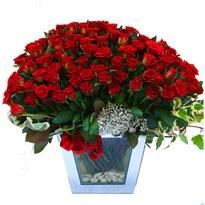 Adana çiçek siparişi çiçekçiler   101 adet kirmizi gül aranjmani