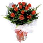 Adana çiçek gönder çiçek , çiçekçi , çiçekçilik  9 adet güzel bir gül buketi