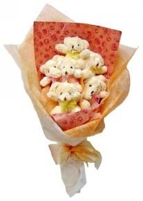 12 adet ayiciktan buket  Adana çiçek gönder çiçek siparişi sitesi