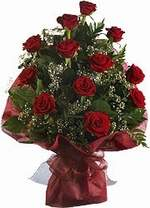 Adana çiçek siparişi çiçekçiler  9 Adet kirmizi gül buketi