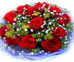 9 adet kirmizi güllerden buket  Adana çiçek yolla çiçekçi telefonları
