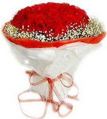 Adana çiçek siparişi çiçekçiler  41 adet kirmizi gül buketi
