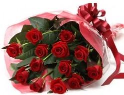 Adana çiçek siparişi anneler günü çiçek yolla  10 adet kipkirmizi güllerden buket tanzimi