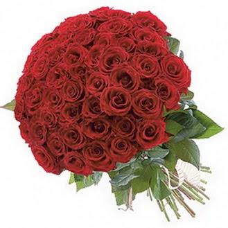 Adana çiçek siparişi güvenli kaliteli hızlı çiçek  101 adet kırmızı gül buketi modeli