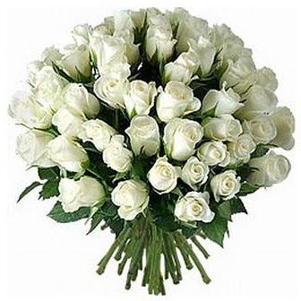 Adana çiçek siparişi çiçek servisi , çiçekçi adresleri  33 adet beyaz gül buketi