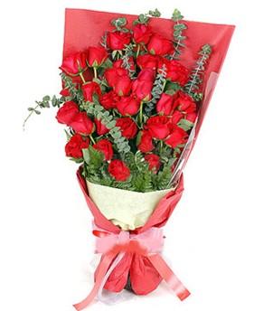 Adana çiçek yolla çiçek gönderme  37 adet kırmızı güllerden buket