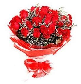 Adana çiçek siparişi çiçek mağazası , çiçekçi adresleri  12 adet kırmızı güllerden görsel buket
