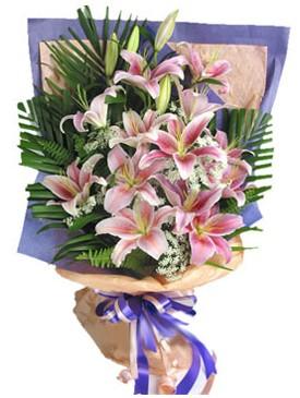 7 dal kazablankadan görsel buket  Adana çiçek siparişi kaliteli taze ve ucuz çiçekler