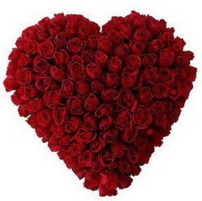 Adana çiçek gönder çiçekçi mağazası  muhteşem kırmızı güllerden kalp çiçeği