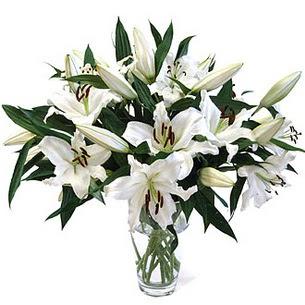 Adana çiçek yolla çiçekçi telefonları  3 dal görsel casablanca vazo tanzimi