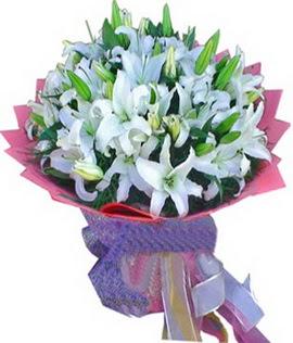 7 dal cazablanca görsel buketi  Adana çiçek gönder çiçekçi mağazası