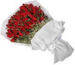 Adana çiçek yolla İnternetten çiçek siparişi  51 adet kırmızı gül buket çiçeği