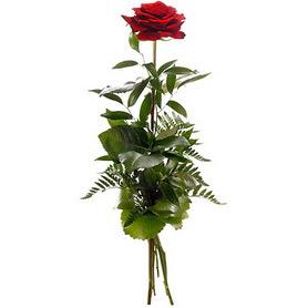 Adana çiçek siparişi online çiçekçi , çiçek siparişi  1 adet kırmızı gülden buket