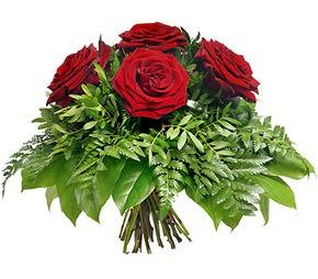 Adana çiçek siparişi çiçek mağazası , çiçekçi adresleri  5 adet kırmızı gülden buket