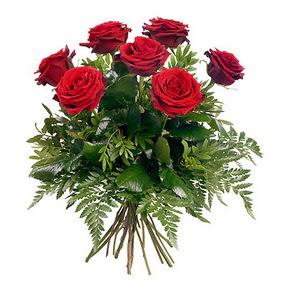 Adana çiçek siparişi online çiçek gönderme sipariş  7 adet kırmızı gülden buket