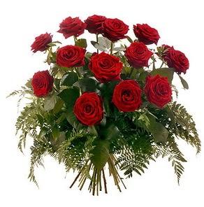 Adana çiçek gönder internetten çiçek satışı  15 adet kırmızı gülden buket