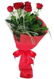 Çiçek yolla sitesinden 7 adet kırmızı gül  Adana çiçek gönder internetten çiçek satışı