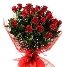 İlginç Hediye 21 Adet kırmızı gül  Adana çiçek siparişi internetten çiçek siparişi