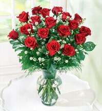 Adana çiçek gönder internetten çiçek satışı  9 adet mika yada vazoda kirmizi güller