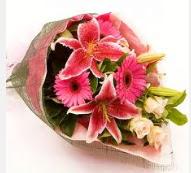 1 dal kazablanka ve mevsim çiçekleri  Adana çiçek siparişi internetten çiçek siparişi