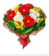 1 demet karışık buket  Adana çiçek siparişi hediye sevgilime hediye çiçek
