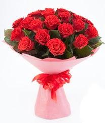 15 adet kırmızı gülden buket tanzimi  Adana çiçek gönder çiçek siparişi sitesi