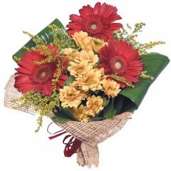 karışık mevsim buketi  Adana çiçek gönder çiçekçi mağazası