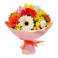 Karışık mevsim buketi Mevsimsel çiçek  Adana çiçek siparişi internetten çiçek siparişi