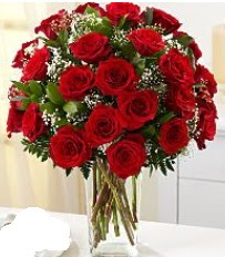 Vazo içerisinde 33 adet kırmızı gül  Adana çiçek siparişi cicek , cicekci