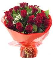 12 adet görsel bir buket tanzimi  Adana çiçek siparişi çiçek siparişi vermek
