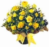 Adana çiçek gönder çiçek , çiçekçi , çiçekçilik  Sari gül karanfil ve kir çiçekleri