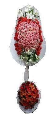 çift katlı düğün açılış sepeti  Adana çiçek gönder internetten çiçek satışı
