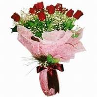 Adana çiçek gönder çiçek siparişi sitesi  12 adet kirmizi kalite gül