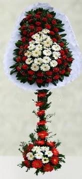 Adana çiçek gönder internetten çiçek satışı  çift katlı düğün açılış çiçeği