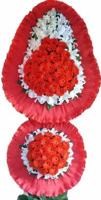 Adana çiçek siparişi online çiçek gönderme sipariş  Çift katlı kaliteli düğün açılış sepeti