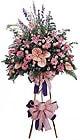 Adana çiçek siparişi güvenli kaliteli hızlı çiçek   Ferforje Pembe kazablanka